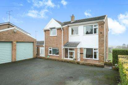 4 Bedrooms Detached House for sale in Fford Y Pentre, Nercwys, Mold, Flintshire, CH7
