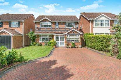 4 Bedrooms Detached House for sale in Alderminster Road, Solihull, West Midlands
