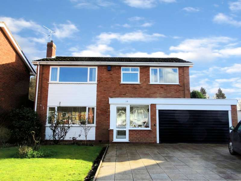 4 Bedrooms Detached House for sale in Blackthorne Close, Solihull