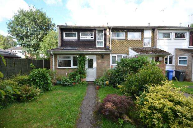3 Bedrooms End Of Terrace House for sale in Frensham Close, Yateley, Hampshire
