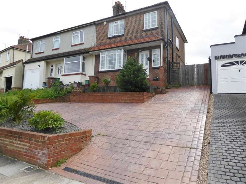 3 Bedrooms Semi Detached House for sale in Beverley Road, Barnehurst, Kent, DA7 6JQ