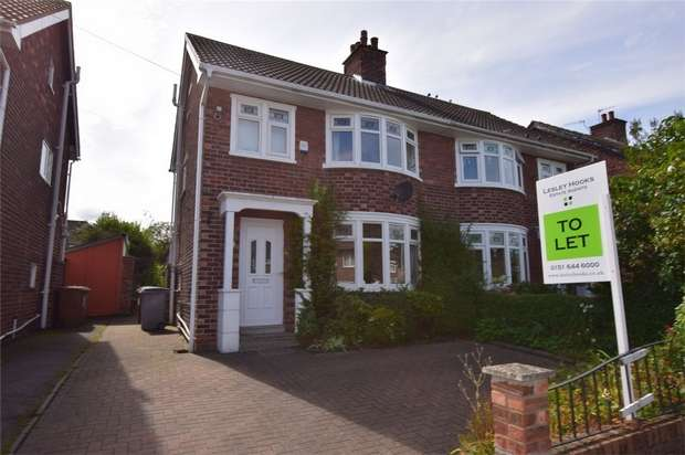 3 Bedrooms Semi Detached House for rent in Malpas Drive, WIRRAL, Merseyside