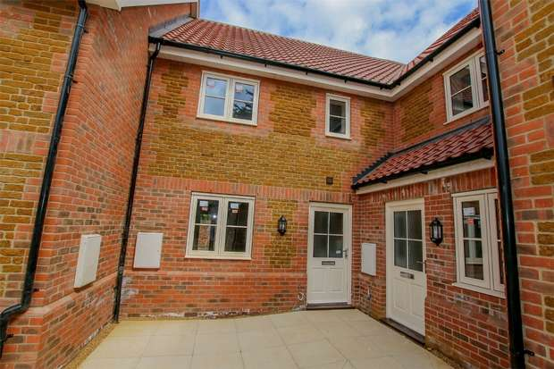 2 Bedrooms Terraced House for sale in 3 Hitch Close, Heacham