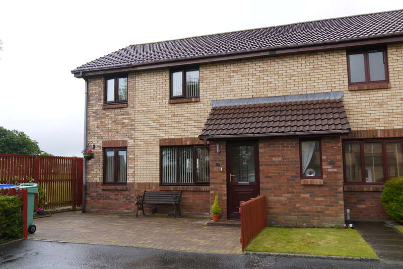 3 Bedrooms End Of Terrace House for sale in Mcadam Court, Prestwick, KA9