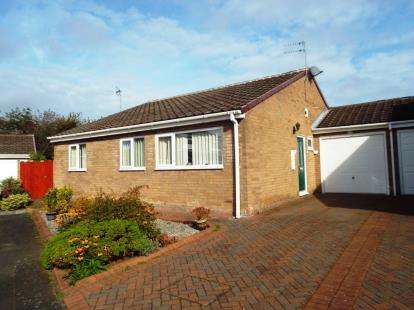 3 Bedrooms Bungalow for sale in Dundrennan, Washington, Tyne and Wear, NE38