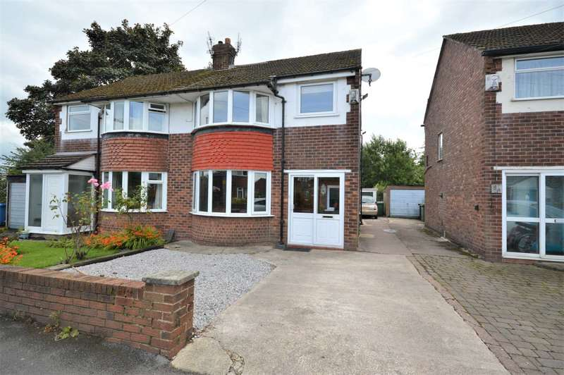 3 Bedrooms Semi Detached House for sale in The Fairway, Offerton