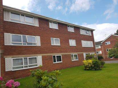 2 Bedrooms Flat for sale in Burlington Court, Burlington Road, Altrincham, Greater Manchester