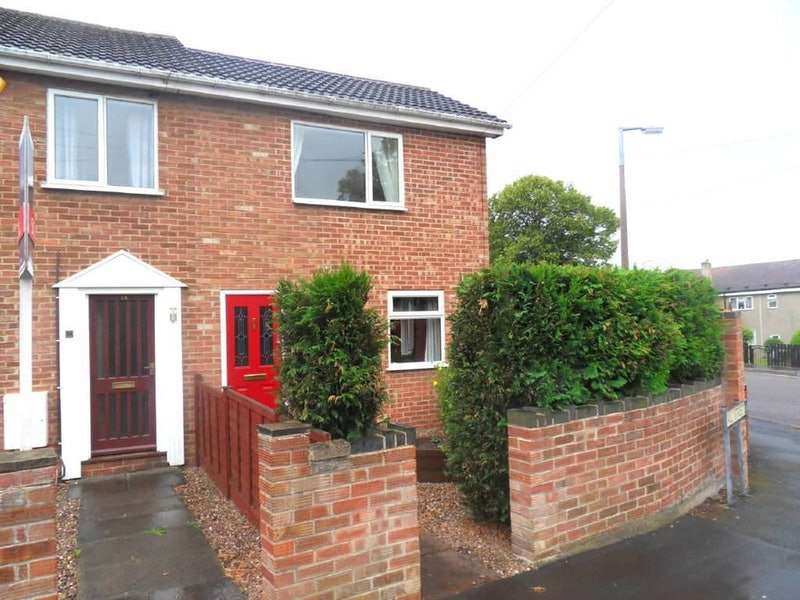 2 Bedrooms Semi Detached House for sale in Hall street, Swadlincote, Derbyshire, DE11