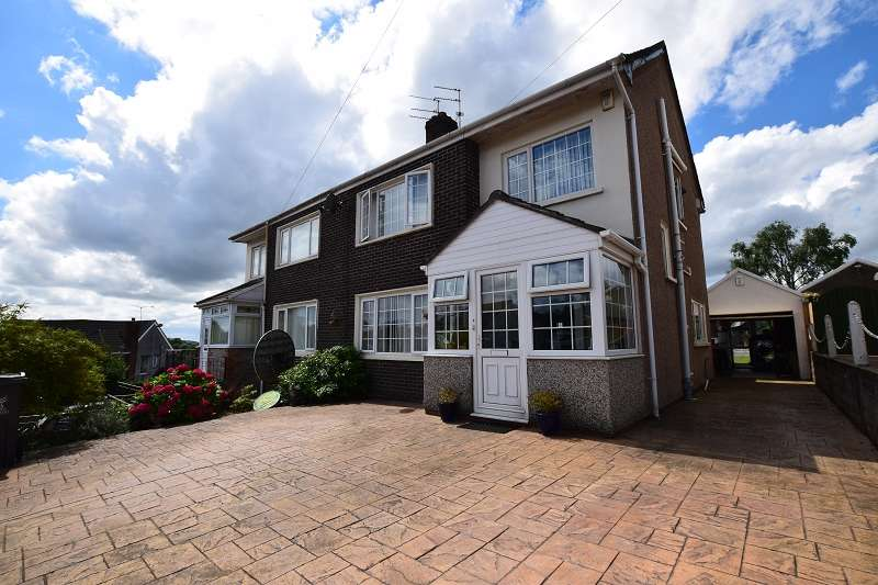 4 Bedrooms Semi Detached House for sale in Caer Wenallt , Pantmawr, Cardiff. CF14 7HP