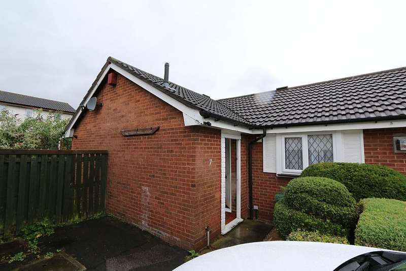 1 Bedroom Semi Detached Bungalow for sale in Holly Court, Helsby, Frodsham, Cheshire, WA6 0PH
