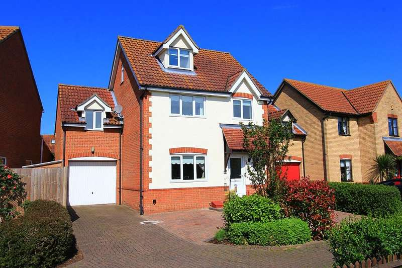 4 Bedrooms Detached House for sale in Juniper Drive, South Ockendon, Essex, RM15 6TW