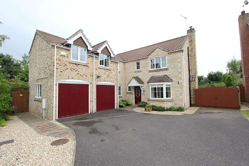 5 Bedrooms Detached House for sale in Lincoln Road, Dunston, Lincoln, Lincolnshire, LN4 2EX