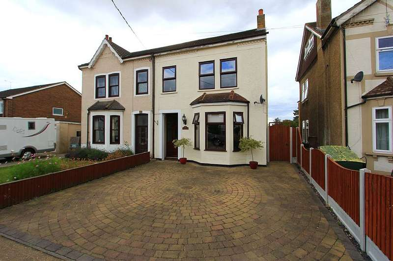 4 Bedrooms Semi Detached House for sale in Somerset Road, Linford, Stanford-le-Hope, Essex, SS17 0PZ