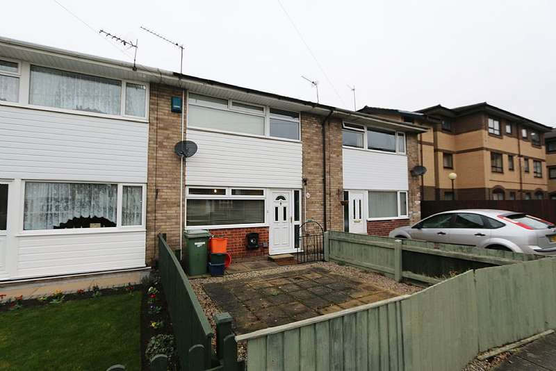2 Bedrooms Terraced House for sale in Salamander Close, Grimsby, Lincolnshire, DN31 2NP