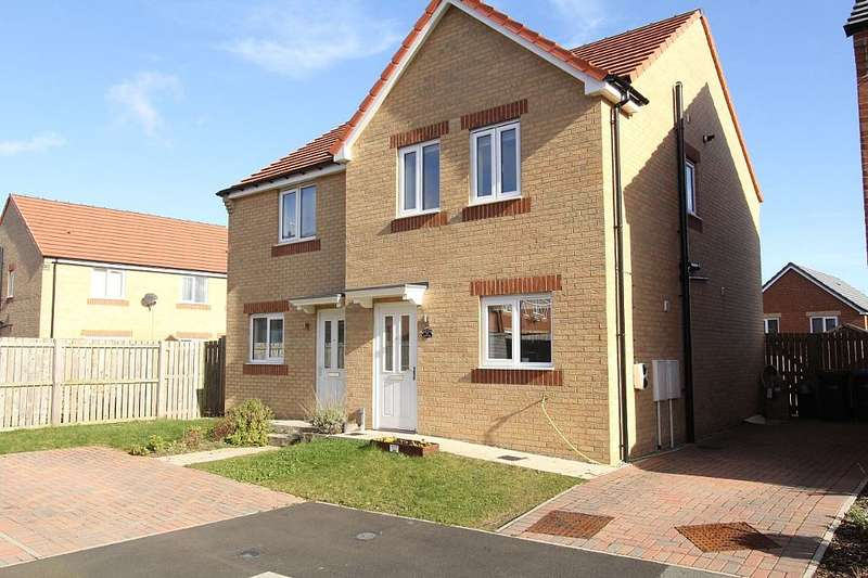 3 Bedrooms Semi Detached House for sale in Viscount Close, Stanley, Durham, DH9 8FD
