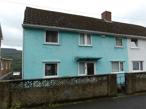 3 Bedrooms Semi Detached House for sale in Tanydarren, Cilmaengwyn, Pontardawe, Swansea, West Glamorgan
