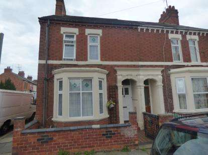 3 Bedrooms End Of Terrace House for sale in Glasgow Street, St James, Northampton, Northamptonshire