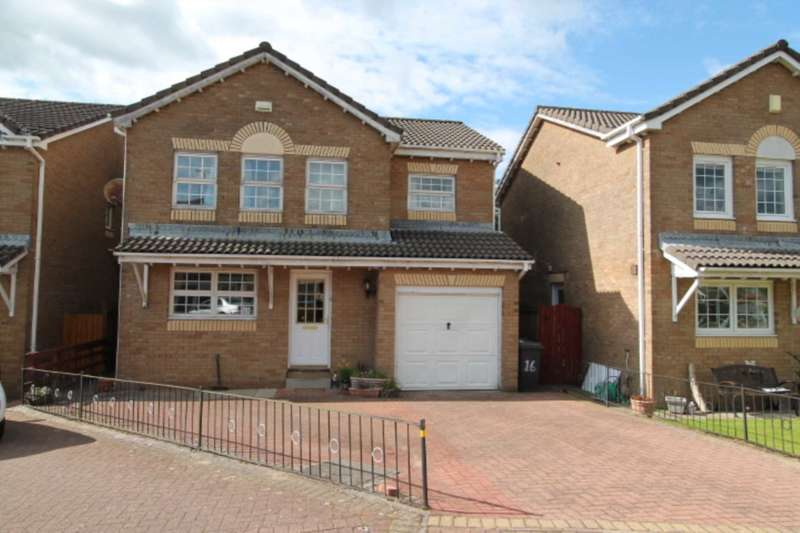 4 Bedrooms Detached House for sale in Charnwood Avenue, Johnstone