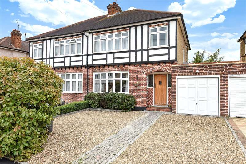 3 Bedrooms Semi Detached House for sale in Trevone Gardens, Pinner, Middlesex, HA5