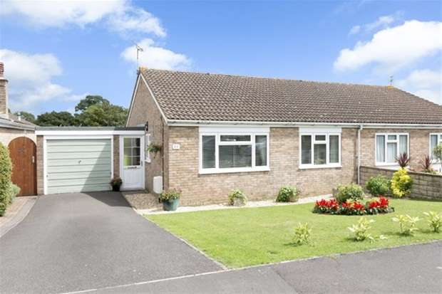 3 Bedrooms Semi Detached Bungalow for sale in Packsaddle Way, Frome