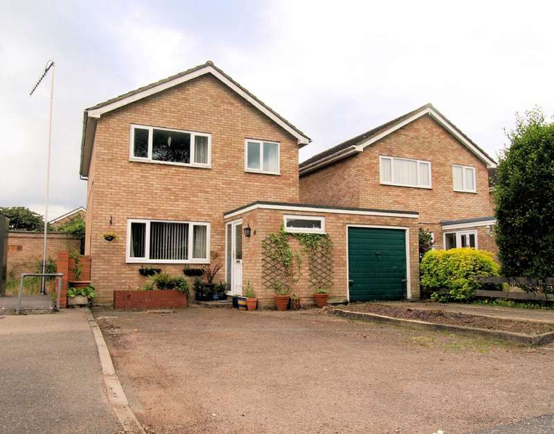 3 Bedrooms Link Detached House for sale in Thames Drive, Newport Pagnell, Buckinghamshire