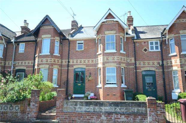 3 Bedrooms Terraced House for sale in Hemdean Rise, Caversham, Reading