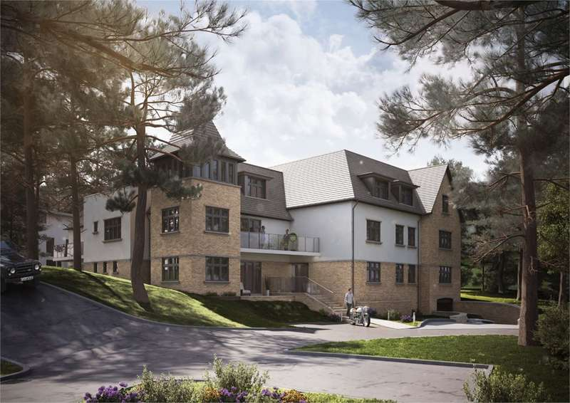 3 Bedrooms Penthouse Flat for sale in Crosstrees, Lilliput, Poole, BH14
