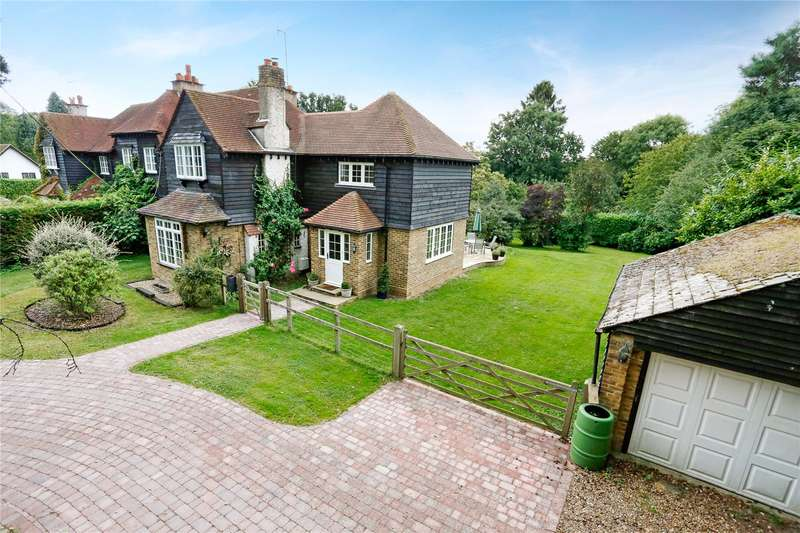 4 Bedrooms Semi Detached House for sale in Wayside, Chipperfield, Kings Langley, Hertfordshire, WD4