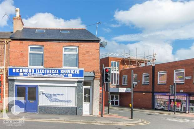2 Bedrooms Semi Detached House for sale in Ground Floor Office and Duplex Apartment, Liverpool Road, Neston, Cheshire