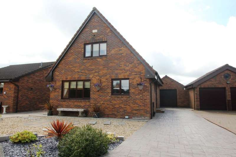3 Bedrooms Detached House for sale in Fleets View, Tranent, EH33