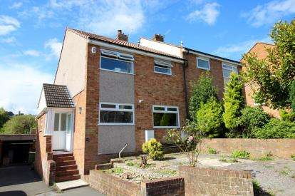 3 Bedrooms Semi Detached House for sale in Greenridge Close, Highridge, Bristol