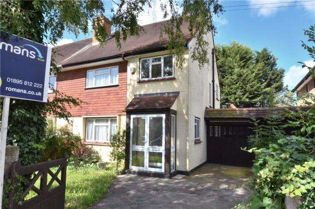 3 Bedrooms Semi Detached House for sale in Hamilton Road, Cowley, Middlesex
