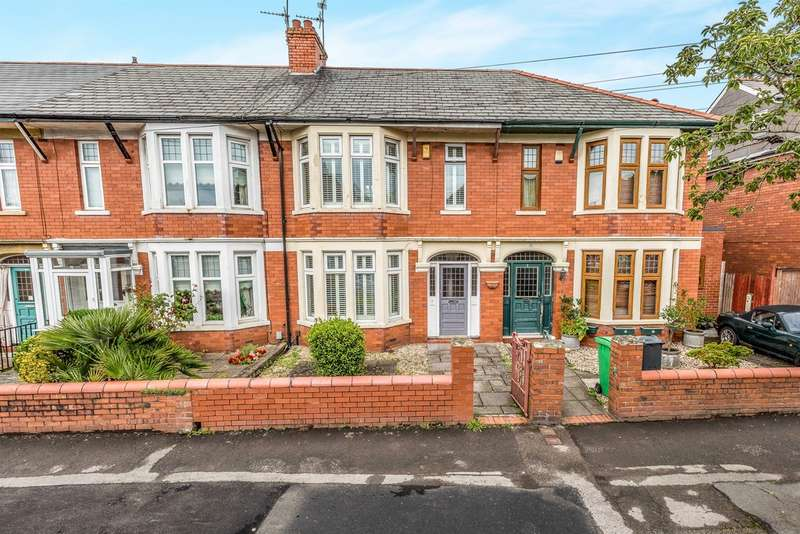 3 Bedrooms Terraced House for sale in Windway Avenue, Cardiff