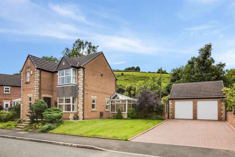 4 Bedrooms Detached House for sale in Pollard Grove, Littleborough, OL15 9PL