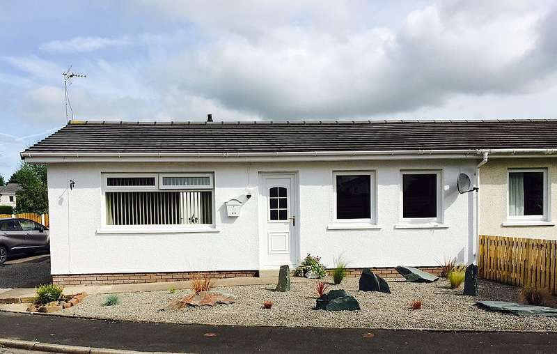2 Bedrooms Semi Detached Bungalow for sale in 22, Harrot Hill, Cockermouth, Cumbria, CA13 0BL