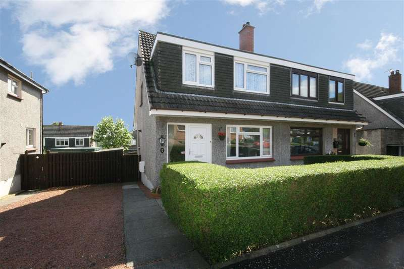 3 Bedrooms Semi Detached House for sale in Princes Crescent, Dollar