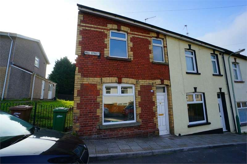 3 Bedrooms End Of Terrace House for sale in Hill Street, Risca, NEWPORT, NP11