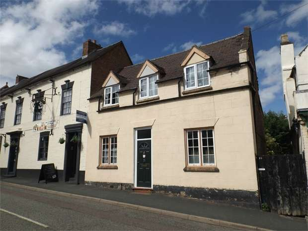 3 Bedrooms Terraced House for sale in High Street, Broseley, Shropshire