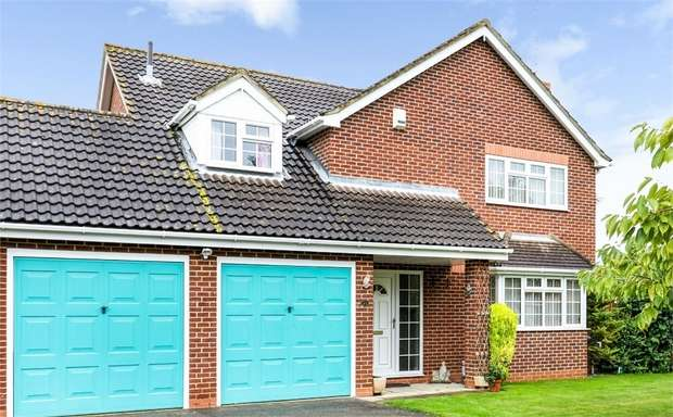 4 Bedrooms Detached House for sale in Ashdale Park, Wisbech, Cambridgeshire