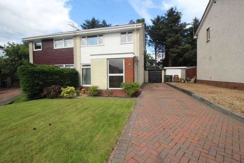 3 Bedrooms Semi Detached House for sale in Ogilvie Way, Livingston, EH54