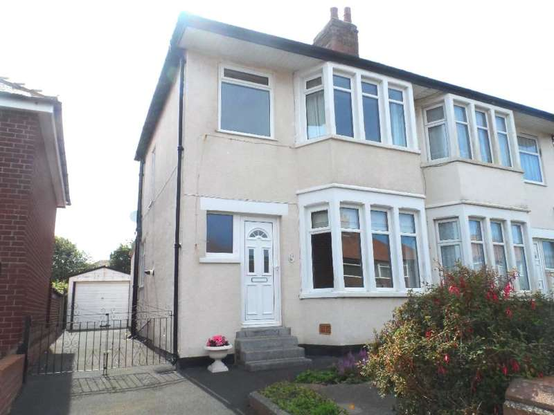 3 Bedrooms Semi Detached House for sale in Davenport Avenue, Blackpool, FY2 9EP