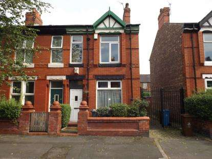2 Bedrooms End Of Terrace House for sale in Dorset Avenue, Manchester, Greater Manchester, Uk