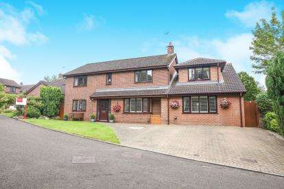 4 Bedrooms Detached House for sale in Carnoustie Drive, Tytherington, Macclesfield, Cheshire