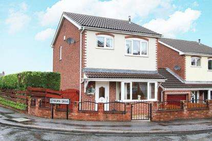 3 Bedrooms Detached House for sale in Leyburn Drive, Swallownest, Sheffield, South Yorkshire