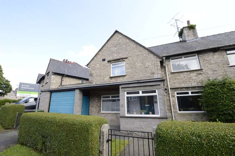 2 Bedrooms Semi Detached House for sale in Castle Drive, Kendal