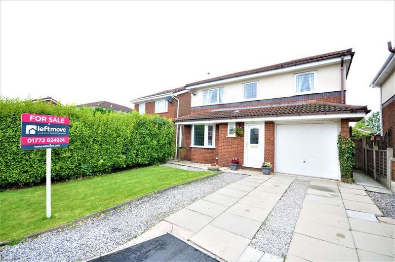 4 Bedrooms Detached House for sale in Hornbeam Close, Penwortham, Preston, Lancashire, PR1 0PT
