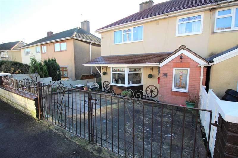 3 Bedrooms Semi Detached House for sale in Manley Close, Tonyrefail, Porth