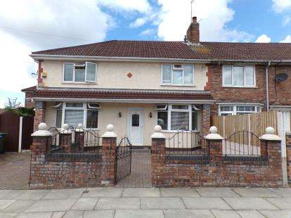 4 Bedrooms End Of Terrace House for sale in Gribble Road, Fazakerley, Liverpool, Merseyside, L10