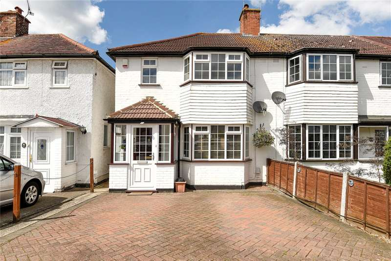 2 Bedrooms End Of Terrace House for sale in Clyfford Road, Ruislip Gardens, Middlesex, HA4
