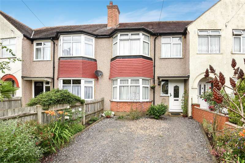 3 Bedrooms Terraced House for sale in Ryefield Avenue, Hillingdon, Middlesex, UB10